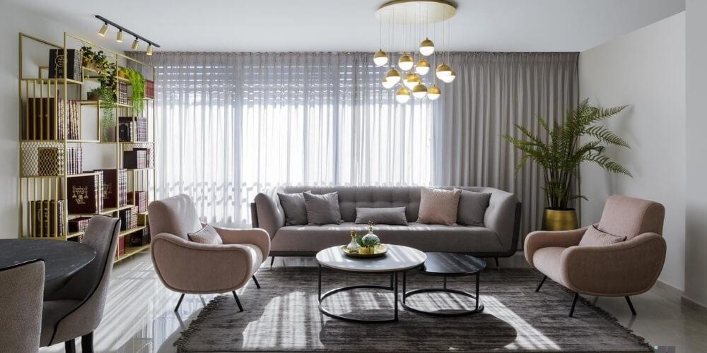 עיצוב סלונים אריק דיזיין חנות רהיטים