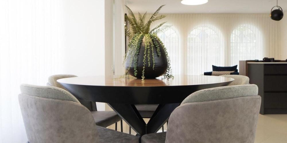 שולחן אוכל עגול אריק דיזיין חנות רהיטים
