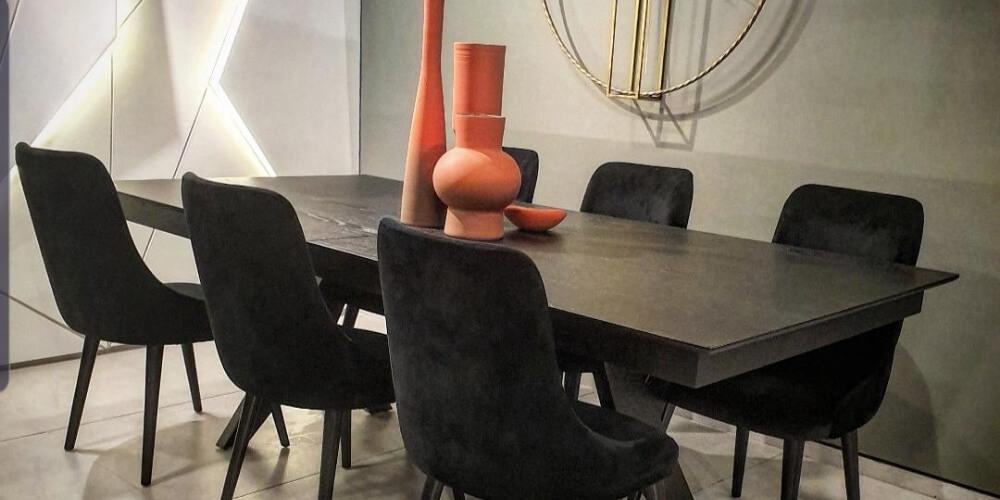 עיצוב פינת אוכל אריק דיזיין חנות רהיטים